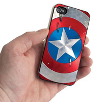 Captain america Custom case For iphone 4/4s,iphone 5,Samsung Galaxy S3,Samsung Galaxy S4