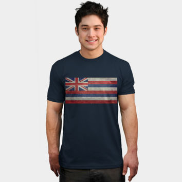 Vintage Retro Hawaii State Flag T Shirt By Bruzer Design By Humans