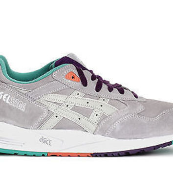 Asics Mens Retro Sneakers Gel Saga Soft Grey/Soft Grey