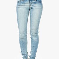 A'GACI Extra Light Wash Skinny Jean - BOTTOMS