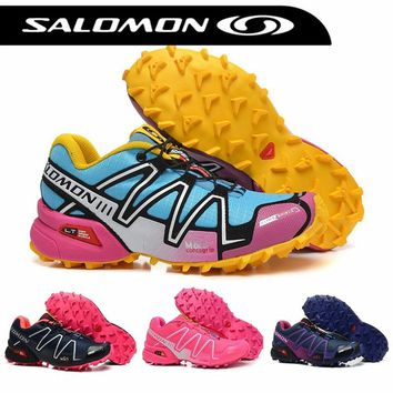 Salomon Speed Cross 3 III CS Marathon Sneakers zapatillas deportivas Women Fencing Shoes Outdoor Sports Shoes Free Shipping