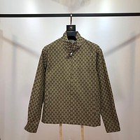 Gucci popular Women's Men's Casual Loose Cardigan Jacket Coat