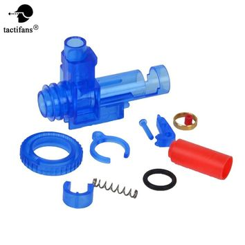 Rotation Glassy Plastic Hop Up Chamber M4 Series AEG Airsoft Hop Up for Marui Dboys JG with Bucking O-ring Inner Barrel Spacer