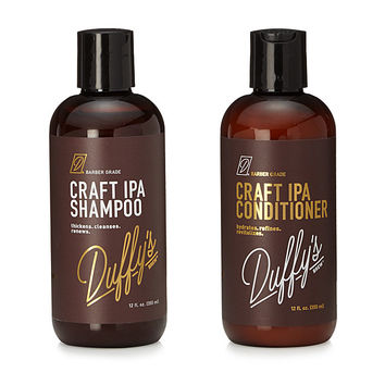 Craft IPA Beer Shampoo & Conditioner | shampoo, conditioner, beer, beer shampoo