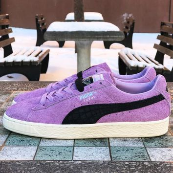 PUMA SUEDE X DIAMOND SUPPLY CO - ORCHID BLOOM/PUMA BLACK