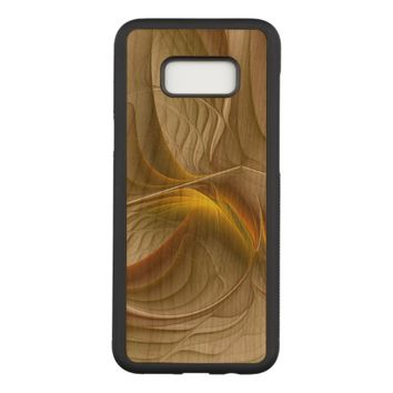Colors of Precious Metals, Abstract Fractal Art Carved Samsung Galaxy S8+ Case