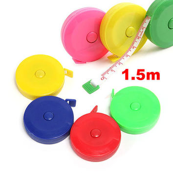 Sewing Retractable Ruler Tape Measure 1.5M 60 Inch W