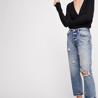 Extreme Washed Boyfriend Jeans