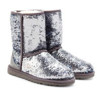 CLASSIC SHORT SPARKLES SEQUINNED BOOTS