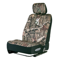 Browning Buckmark Mossy Oak Camo Neoprene Low Back Seat Cover
