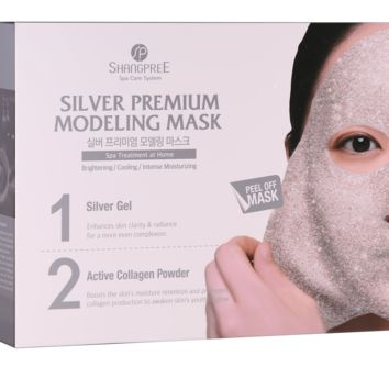 "Silver Premium Modeling ""Rubber"" Mask - Set of 5"