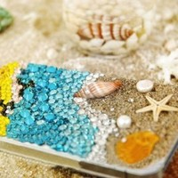 Beautiful Coast Crystal Case for iPhone4/4S