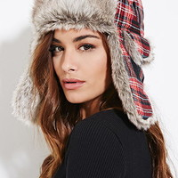 Tartan Plaid Trapper Hat