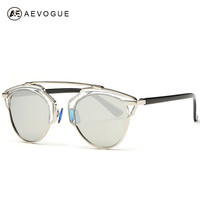 AEVOGUE Polarized Sunglasses Women Newest Brand  Butterfly Alloy frame Specialties Polaroid lens Sun Glasses Oculos UV400 AE0178