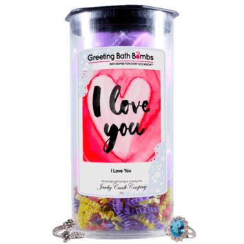 I Love You | Greeting Bath Bombs®