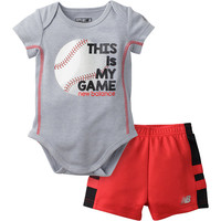 New Balance 2-pc. Bodysuit Set-Baby Boys - JCPenney