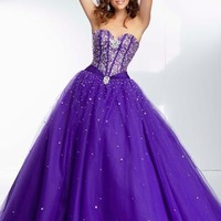 Mori Lee 95075 Prom Dress - PromDressShop.com