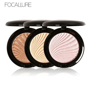 FOCALLURE Makeup Foundation Cream Concealer Mention Powder High Light Powder Shimmer