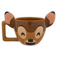 Disney Parks Bambi Coffee Tea Mug Cup Emoji New