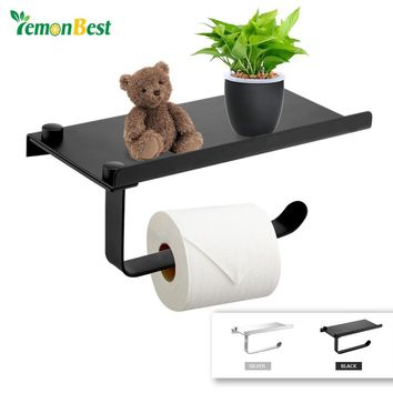 Multi-function wall mounted toilet paper holder Bathroom fixture