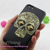 ON SALE iphone 4 case skull iphone 5s case iphone 5c case bling iphone 5 case crystal iphone 4s case unique iphone 4 case iphone 4s cover
