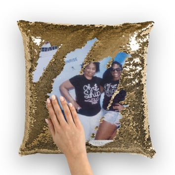 Custom Sequin Pillows Sequin Cushion Cover