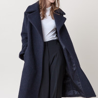 Riviera Short Coat in Navy