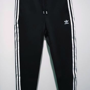 adidas Originals Three Stripe Black Track Pants
