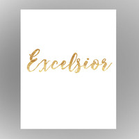 Excelsior-Silver linings playbook- printable download
