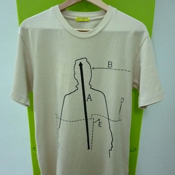 Rare Roy Lichtenstein BADE Pop art indie punk rock t-shirt