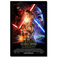 "Star Wars 7 The Force Awakens Movie Art Silk Poster Print 12X18 24x36"" Pictures For Living Room Decor Darth Vader ST02(17)"