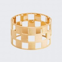 Thin Damier Ring by Charlet par Aime, Designer Fine Jewellery Jewellery, Kabiri Jewellery Store Online