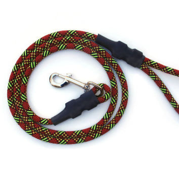 Christmas Climbing Rope Dog Leash