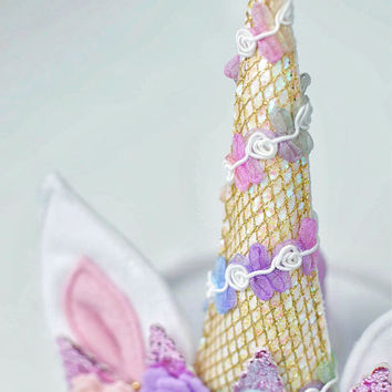 unicorn horn - unicorn headband - unicorn party - unicorn birthday - unicorn costume - baby unicorn outfit - unicorn cake smash