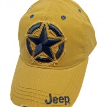 Jeep Distressed 3D Star Cap | Hats & Caps | Jeep Apparel | My Jeep Accessories
