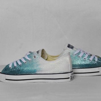 Converse shoes converse wedding shoes ombre converse all star converse customized cust
