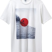 Old Navy Mens Surf Graphic Tees