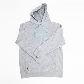 GOLF EMBROIDERED HOODIE GREY – golfwang