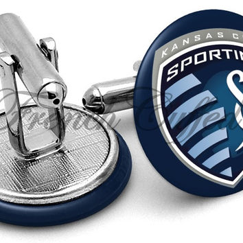 Sporting Kansas City Cufflinks