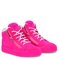 The Unfinished - Mid Tops - Fuxia | Giuseppe Zanotti - US