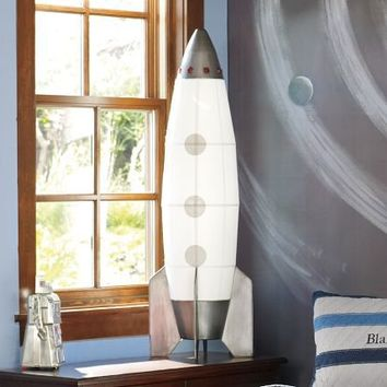 Rocket Floor Lamp | Pottery Barn Kids