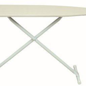 Heavy-duty Hotel Board Ironing Board With Pad And Cover Khaki