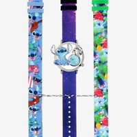 Licensed cool Disney Lilo & Stitch Interchangeable Analog Watch 3 Bands Licensed New in Box