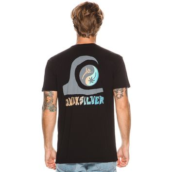 QUIKSILVER DARK SIDE SS TEE