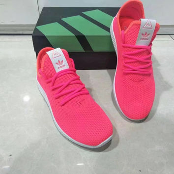"""Adidas NMD HU"" Women Sport Casual Fly Weave Sneakers Running Shoes"