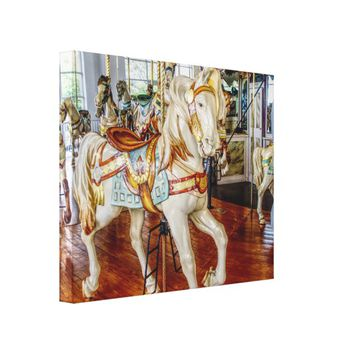 carousel Horse --- Canvas Art Large Print