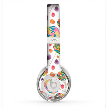The Lollipop Candy Pattern Skin for the Beats by Dre Solo 2 Headphones