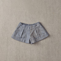 Nellystella Jess Shorts in Light Grey Foil - N15F202