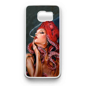 Octopus Tattooed Sigaret Samsung Galaxy S6 Edge Plus Galaxy S6 Edge Galaxy S6 Galaxy S5 Case