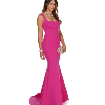 Joelle- Fuchsia Prom Dress
